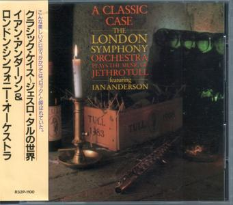 The London Symphony Orchestra Featuring Ian Anderson - A Classic Case (1985) {1987, Japan 1st Press}