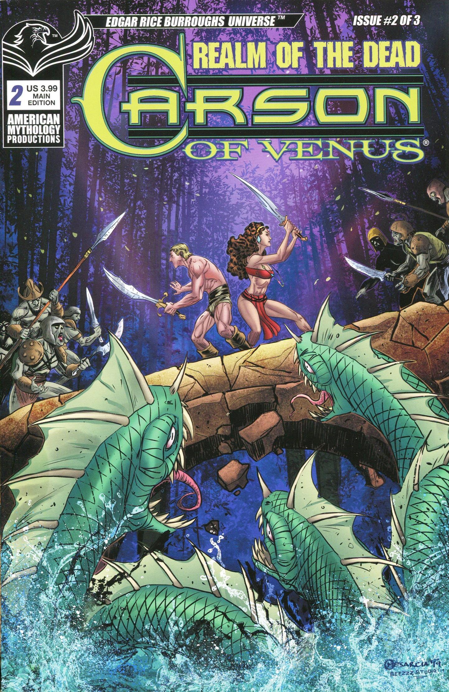 Carson of Venus-Realm of the Dead 002 2020 c2c American Mythology ComicsCastle