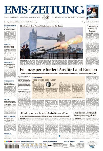 Ems-Zeitung - 7 Februar 2017