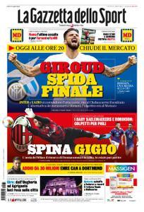 La Gazzetta dello Sport Roma – 31 gennaio 2020