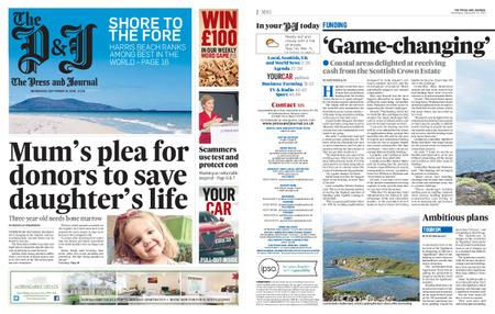 The Press and Journal Moray – September 16, 2020