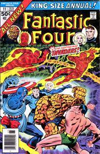 Invaders 1976 Fantastic Four Annual 011