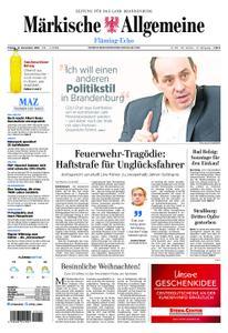 Märkische Allgemeine Fläming Echo - 14. Dezember 2018