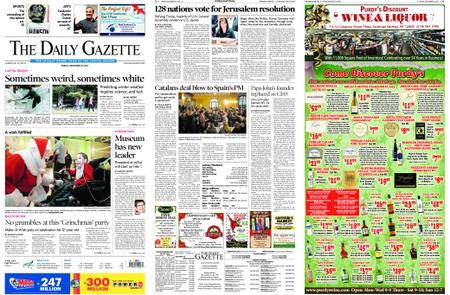 The Daily Gazette – December 22, 2017