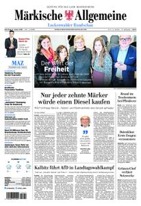 Märkische Allgemeine Luckenwalder Rundschau - 08. Januar 2019