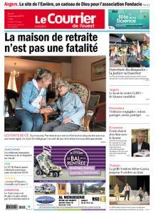 Le Courrier de l'Ouest Angers – 03 octobre 2019