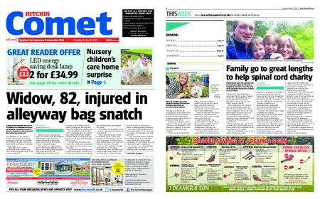 The Comet Hitchin – October 12, 2017