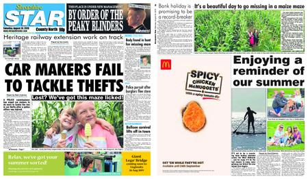 Shropshire Star North County Edition – August 24, 2019
