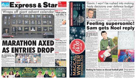 Express and Star City Edition – December 05, 2017