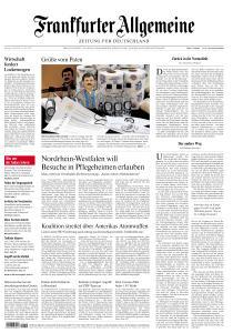 Frankfurter Allgemeine Zeitung - 4 Mai 2020