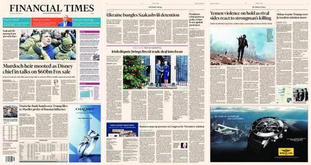 Financial Times Europe – 06 December 2017