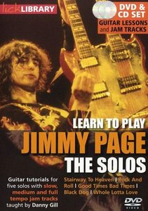 Learn to Play Jimmy Page - The Solos [repost]