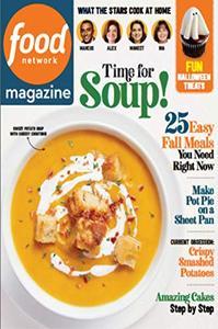 Food Network Magazine – 01 October 2020