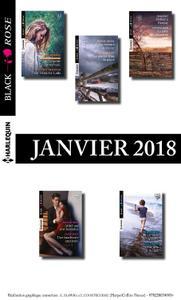 Collectif 10 romans Black Rose (nº458 à 462 - Janvier 2018)