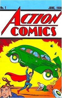 Action Comics N°1 - Giugno 1938 - Edizione Mondadori