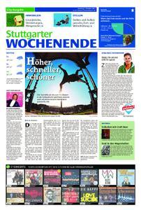 Stuttgarter Wochenende - City-Ausgabe - 05. Oktober 2019