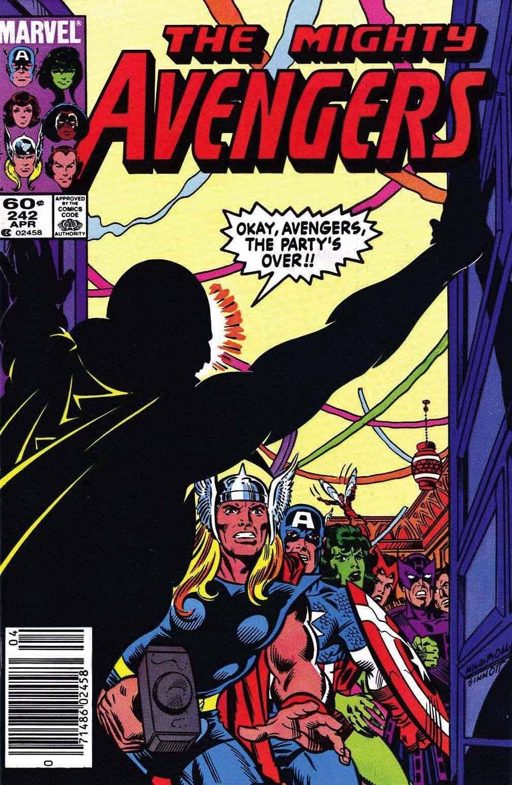 For Whomever - Avengers v1 242 cbr