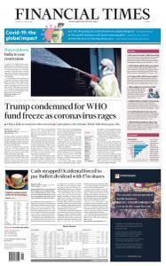Financial Times Europe - April 16, 2020