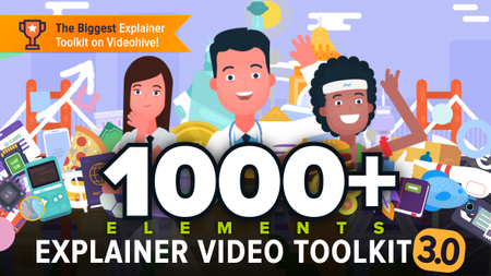 Explainer Video Toolkit 3 V3.4 - Project for After Effects (VideoHive)