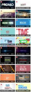 Videoblocks - Typography Template Crazy Bundle (Projects for After Effects)