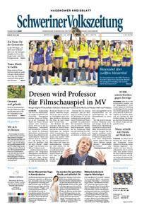 Schweriner Volkszeitung Hagenower Kreisblatt - 30. April 2018