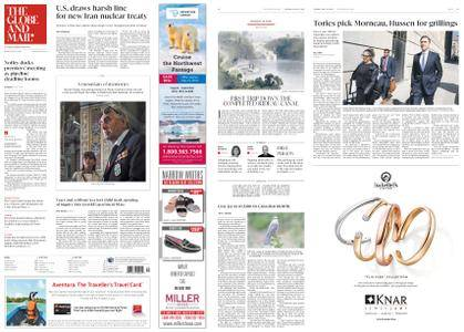 The Globe and Mail – May 22, 2018