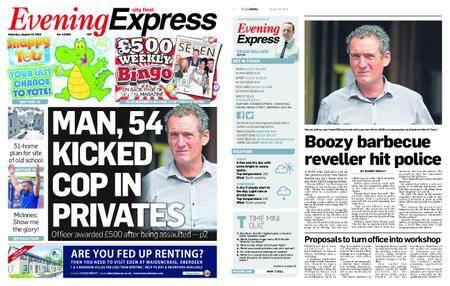 Evening Express – August 18, 2018