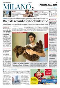 Corriere della Sera Milano – 02 gennaio 2021