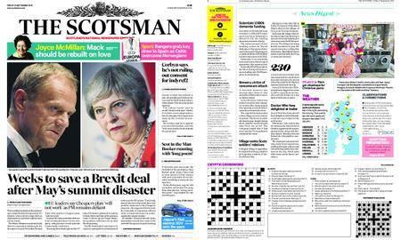 The Scotsman – September 21, 2018