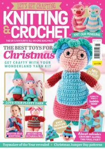 Let's Get Crafting Knitting & Crochet - Issue 106 - November 2018