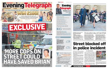 Evening Telegraph First Edition – November 15, 2019
