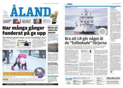 Ålandstidningen – 28 november 2018