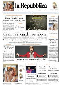 la Repubblica - 1 Dicembre 2020