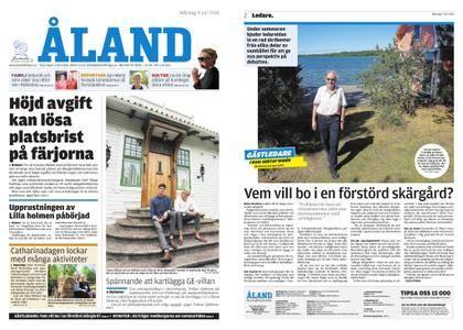 Ålandstidningen – 09 juli 2018