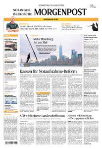 Solinger Morgenpost – 29. August 2019