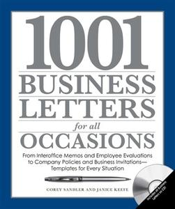 «1001 Business Letters for All Occasions» by Corey Sandler,Janice Keefe