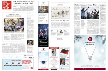 The Globe and Mail – December 21, 2018