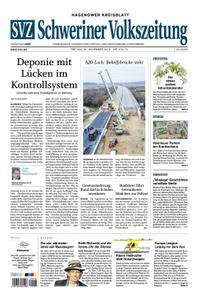 Schweriner Volkszeitung Hagenower Kreisblatt - 30. November 2018