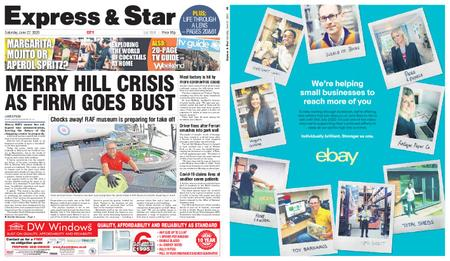 Express and Star City Edition – June 27, 2020