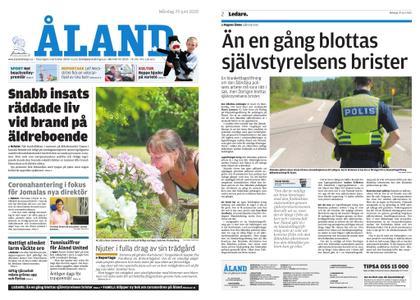 Ålandstidningen – 29 juni 2020