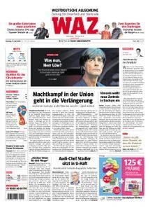 WAZ Westdeutsche Allgemeine Zeitung Oberhausen-Sterkrade - 19. Juni 2018