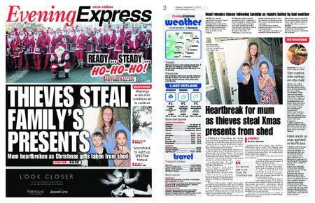 Evening Express – December 11, 2017