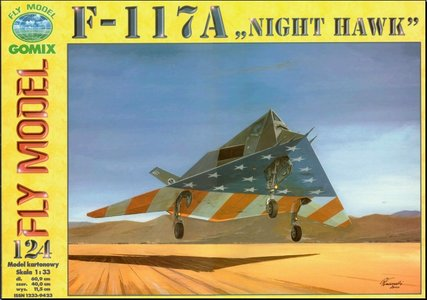 Fly Model 124 - F-117A Night Hawk
