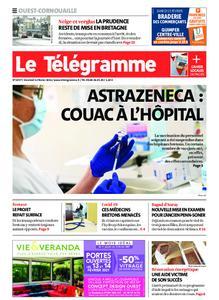 Le Télégramme Ouest Cornouaille – 12 février 2021
