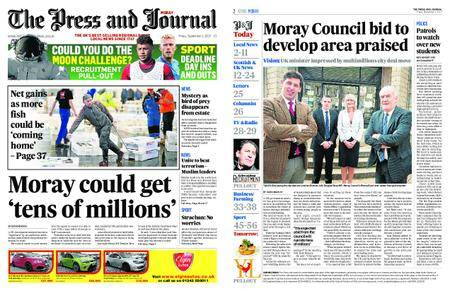 The Press and Journal Moray – September 01, 2017