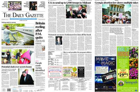The Daily Gazette – May 25, 2019