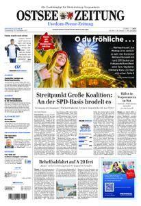 Ostsee Zeitung Wolgast - 23. November 2017
