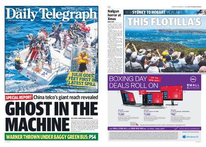 The Daily Telegraph (Sydney) – December 27, 2018