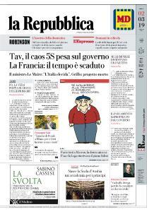 la Repubblica - 2 Marzo 2019