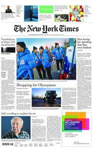 International New York Times - 10 February 2018
